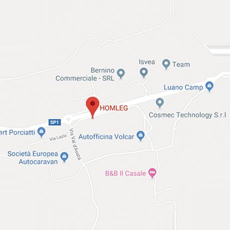 Mappa dove siamo Homleg